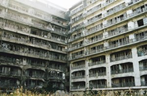 Hashima_houses
